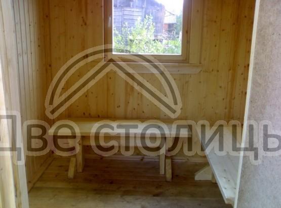 Садовая мебель из минибруса
