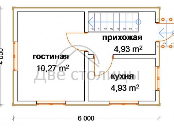 """Дом с мансардой """"Стандарт-1"""""""