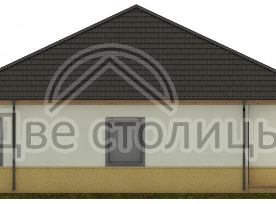 "Дом ""Melie A-02"" 12x12.5"