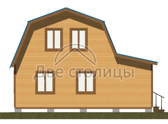 """Дом с мансардой """"Стандарт-6"""""""