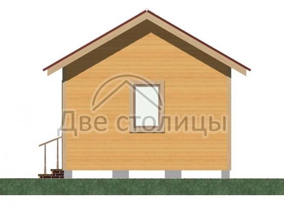 Дом щитовой 4х6 «Д4-6Д»
