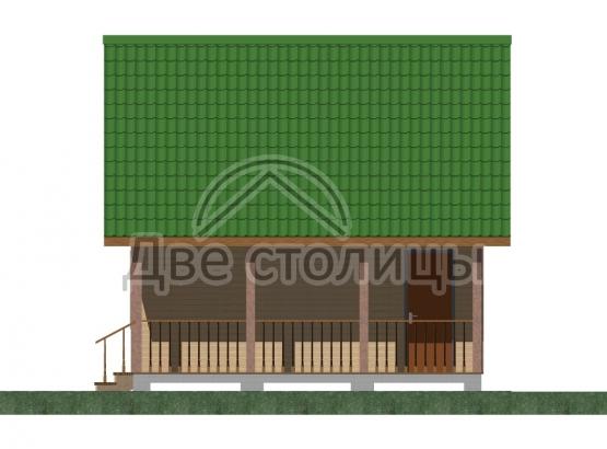 """Дом с мансардой """"Стандарт-2"""""""