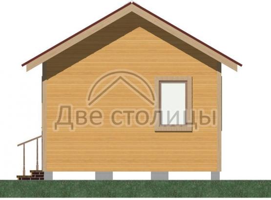 Дом щитовой 4х4 «Д4-4Д»