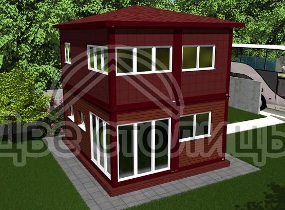Бильярдный домик-1