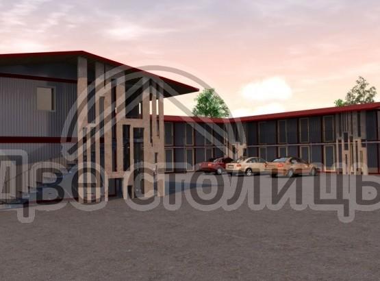 Модульное здание мотель
