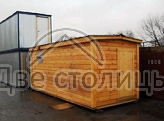 Мобильная баня из бруса 6х2,3