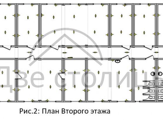 Двухэтажное жилое модульное здание