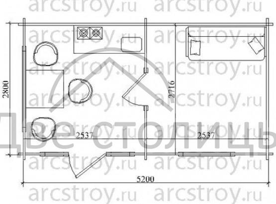 Дом - 10 (5200х2800)