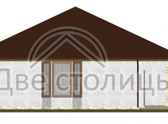 "Дом ""Melie A-01"" 11.8x15.5"