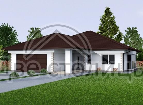 "Дом ""Melie A-05"" 18.5x14.8"