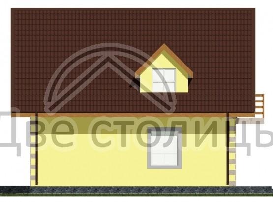 "Дом ""Melie A-06"" 8.56x8.4"