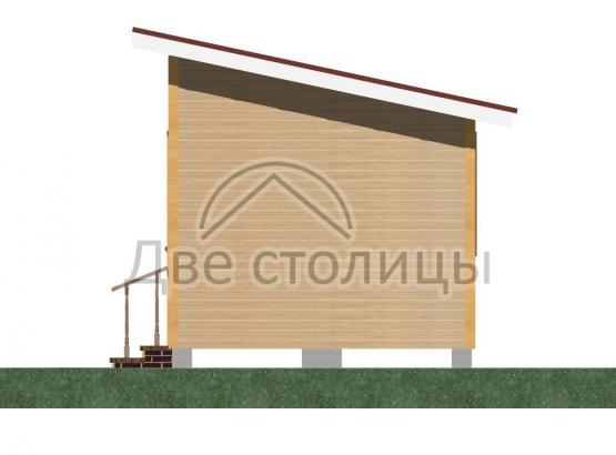 Дом щитовой 3х6 «Д3-6О»