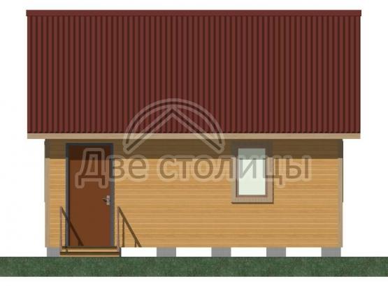 Дом щитовой 6х6 «Д6-6Д»