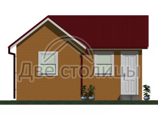 "Садовый домик ""Жаворонок"" 6х7"